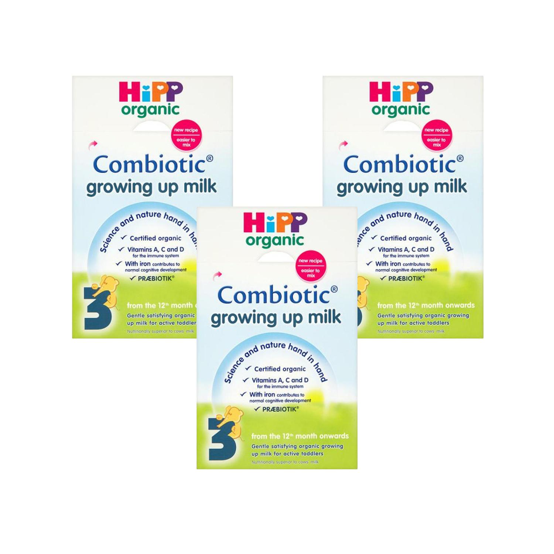 HiPP Organic Growing Up Milk Powder Triple Pack