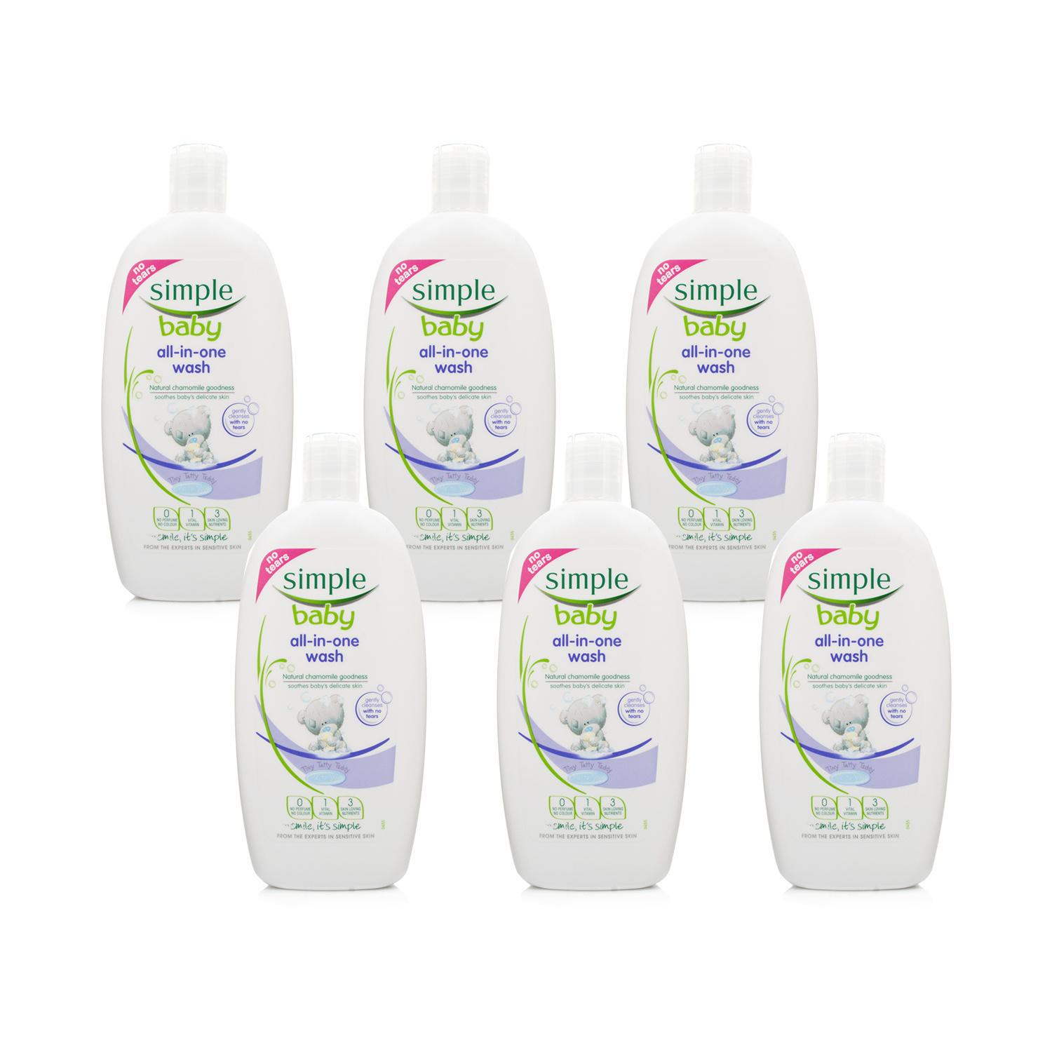 Click to view product details and reviews for Simple Baby All In One Wash 6 Pack.