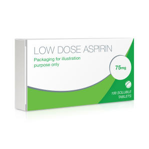 Dispersible Aspirin Tablets 75mg (Low Dose Aspirin)