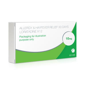 Allergy & Hayfever Relief Loratadine - 360 Tablets