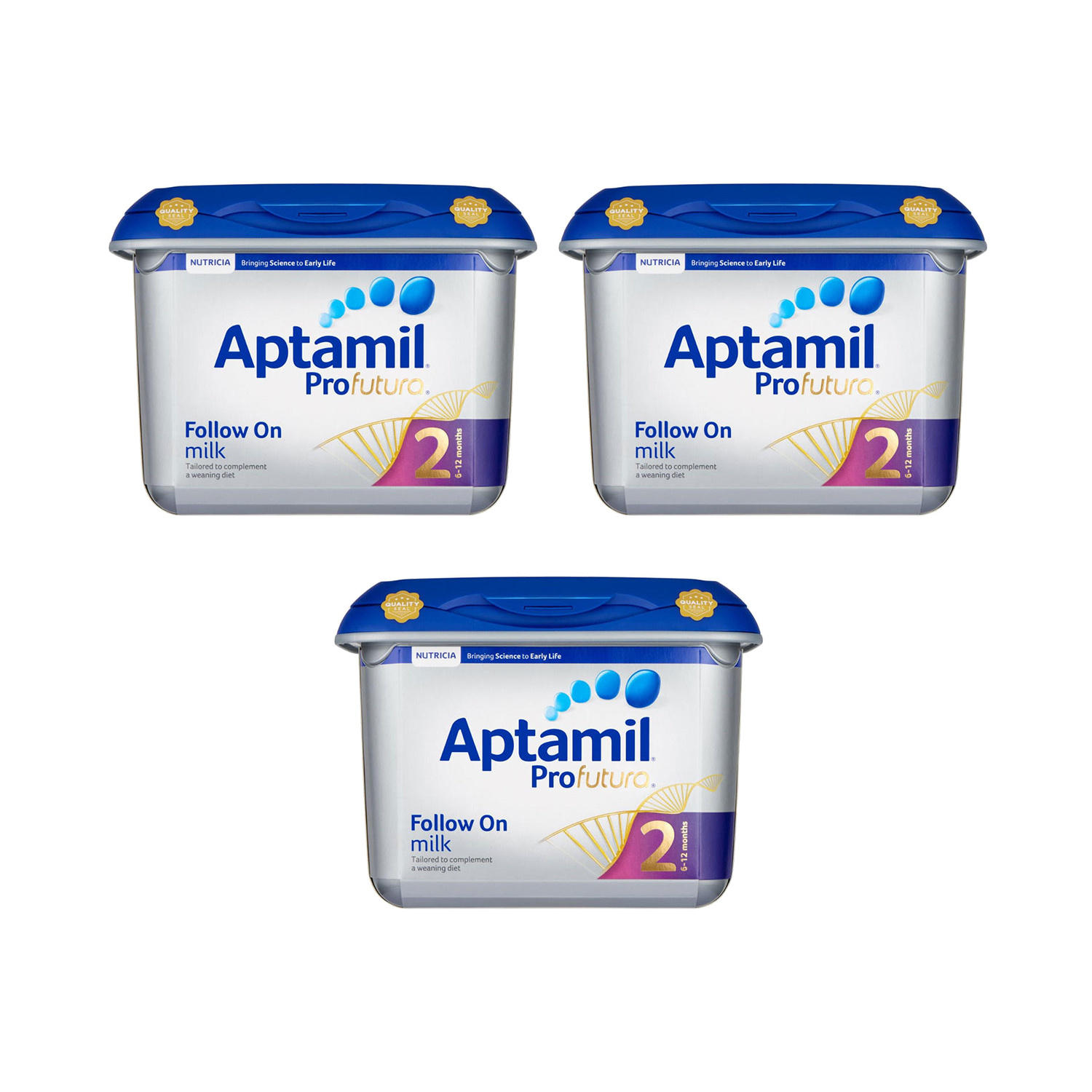 Click to view product details and reviews for Aptamil Profutura Follow On Milk Triple Pack.