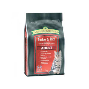 James Wellbeloved Adult Cat Kibble Turkey and Rice