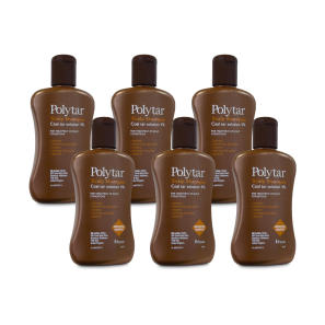 Polytar Scalp Shampoo 150ml - 6 Pack