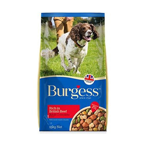 Click to view product details and reviews for Burgess Dog Food Rich In British Beef.