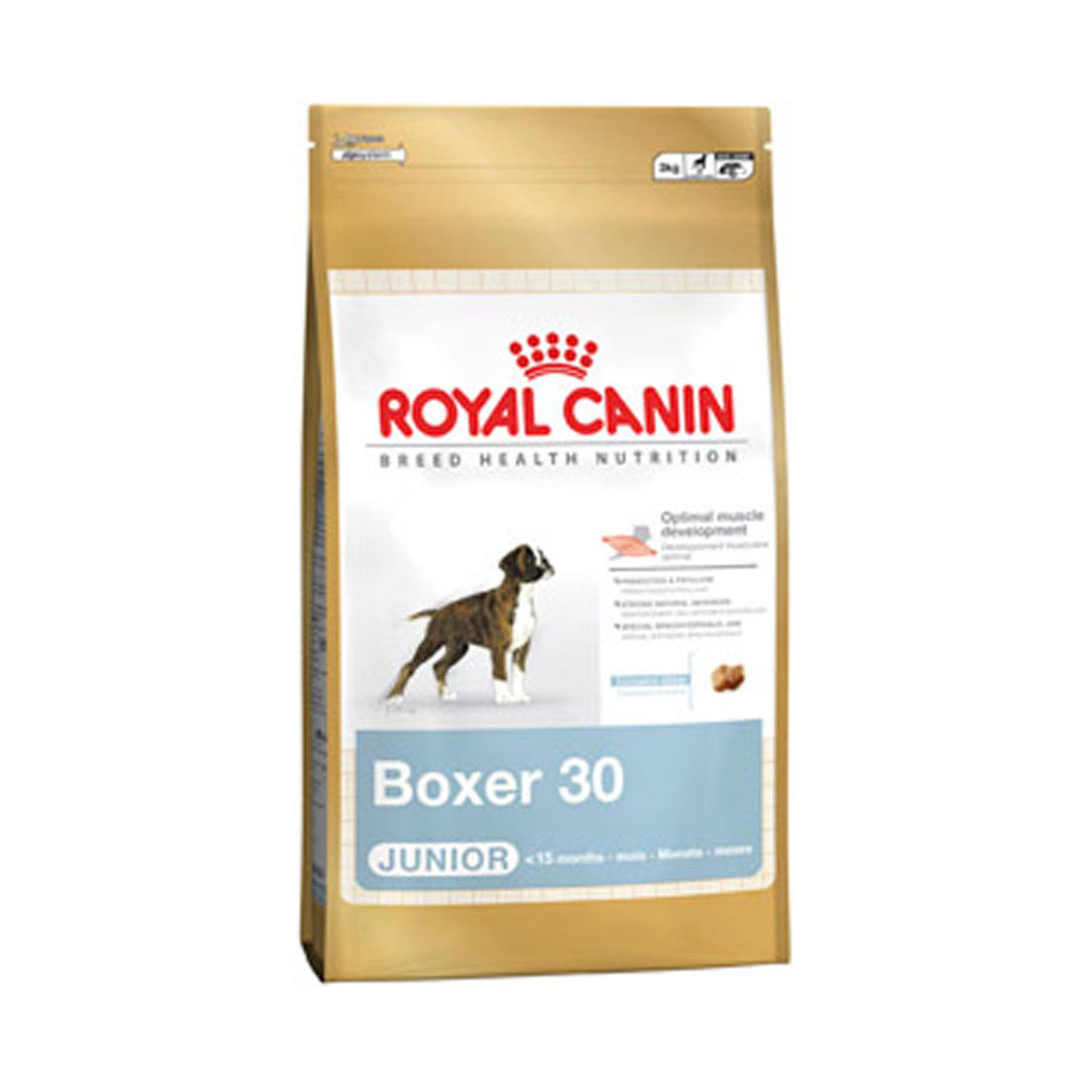 Click to view product details and reviews for Royal Canin Breed Health Nutrition Boxer Junior 30.
