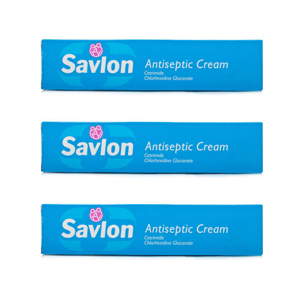 Savlon Antiseptic Cream Triple Pack