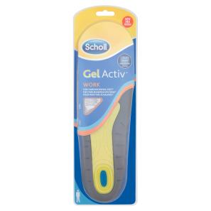 Scholl Gel Activ Work Insoles For Men