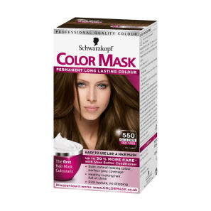 Schwarzkopf Colour Mask 550 Golden Brown Hair Dye