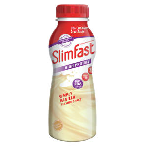 Slimfast Milkshake Bottle Vanilla 325ml Bottle