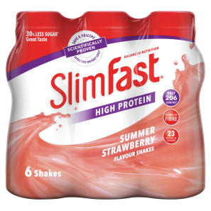 Slimfast milkshake Multipack Bottle Strawberry 6x325ml
