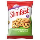 Slimfast Snack Bag Sour Cream Pretzel - 12 Pack