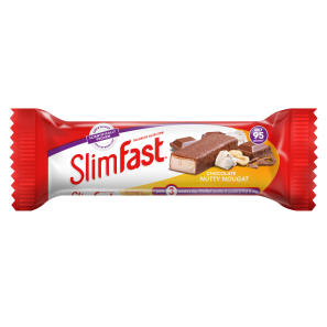 Slimfast Nutty Nougat - 24 Snack Bars
