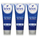 Veet For Men Hair Removal Gel Cream - Triple Pack