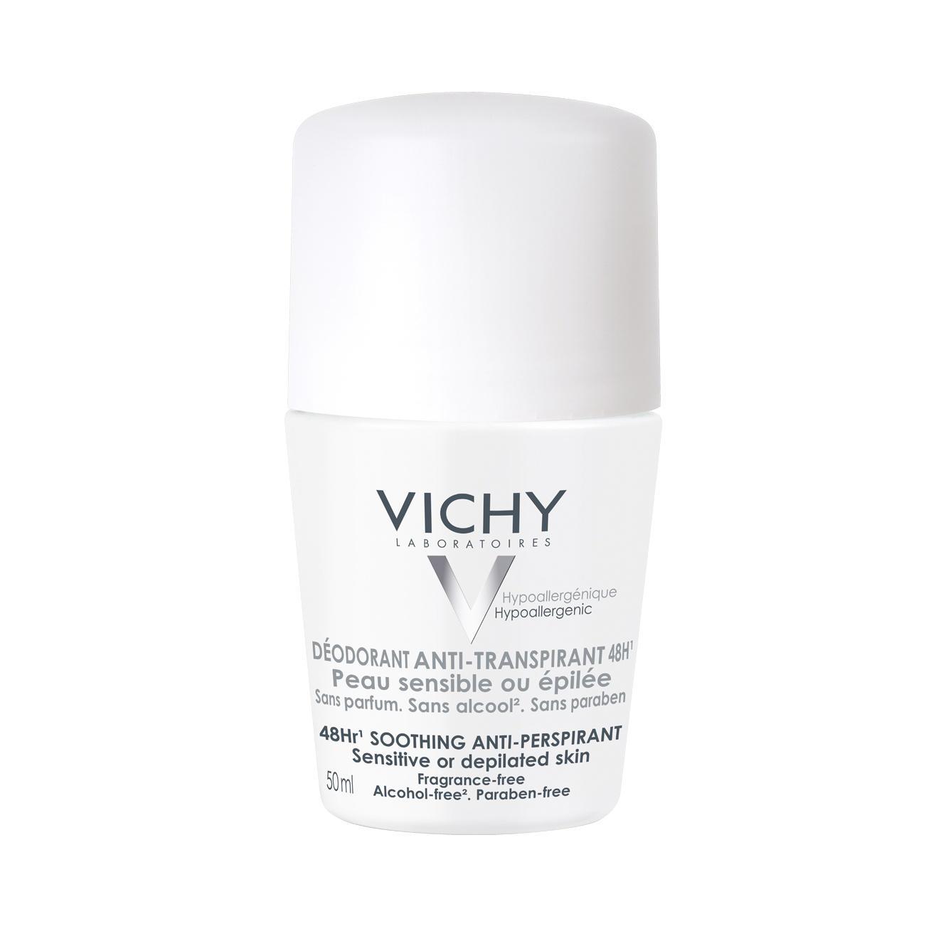 Vichy Deodorant 48 Hour Roll On Sensitive Skin