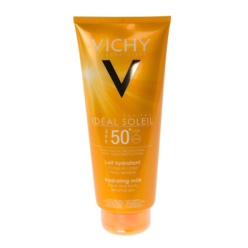 buy vichy ideal soleil face body milk spf50 chemist direct. Black Bedroom Furniture Sets. Home Design Ideas