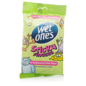 Wet Ones Sticky Fingers Travel Pack