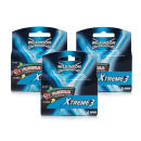 Wilkinson Sword Xtreme 3 Systems 4 Blades - Triple Pack