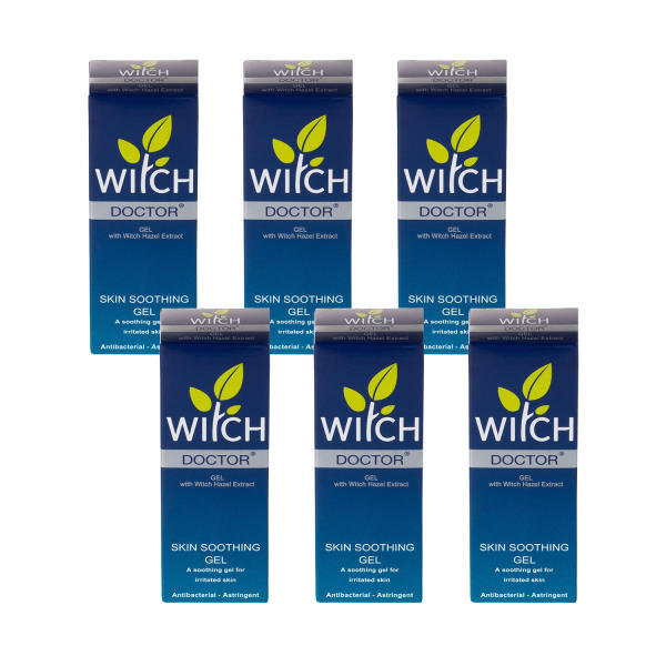 Witch Doctor Skin Treatment Gel 35g - 6 Pack